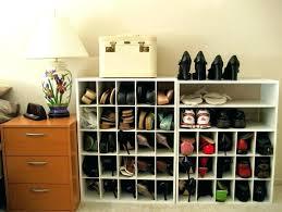 shoe closet organizer diy closetmaid