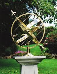charming armillary sphere a great garden feature