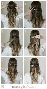 Die Besten 25 Haarband Frisur Ideen Auf Pinterest Dutt Frisur