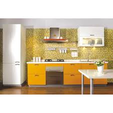 Yellow Pine Kitchen Cabinets Contemporary Small Kitchen Design Ideas Featuring L Shaped Light