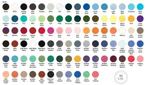 Bella Canvas Shirts Color Chart Rldm