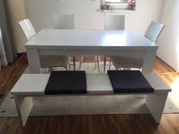 Esstisch Weiß Mit Bank U 4 Stühle In 6060 Hall In Tirol Für 15000