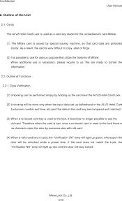 please lock door. Page 3 Of ALV2P ALV2(P) User Manual And ALV2A- Miwa Lock Please Door E