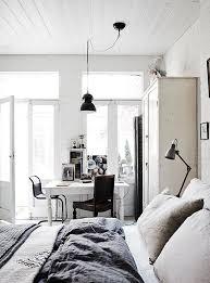 desk in bedroom ideas. Brilliant Ideas Retro Scandinavian Design With A Desk By The Window For Desk In Bedroom Ideas S