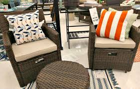 halsted 4 piece wicker patio furniture set ideas