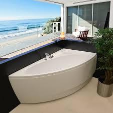 aquatica idea 59 h x 25 25 w freestanding acrylic bathtub