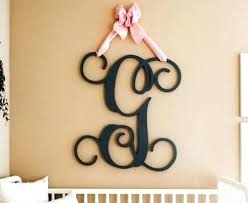 monogram wall letters wooden monogram letters for wall nursery wall art wooden monogram initials nursery decor monogram wall letters wooden