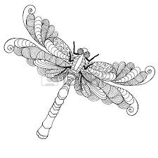 Small Picture 758 Dragonfly Tattoo Stock Illustrations Cliparts And Royalty