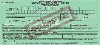 primo driving student permit