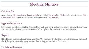 Project Meeting Minutes Template Documentation Free Templates Word ...