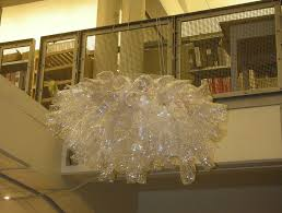 chihuly plastic bottle chandelier image collections