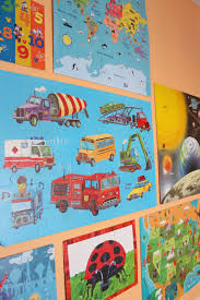 using puzzles as wall art is something i haven t really come across yet in children s decor maybe it s because it is a bad idea or maybe i ve just  on puzzle into wall art with puzzle wall design improvised