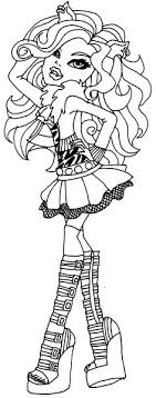 Small Picture Monster High Coloring Page Monster High Ever After High