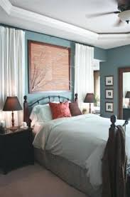 blue walls brown furniture. What Color Curtains With Blue Walls Brown Furniture Light Coral Accents Dark