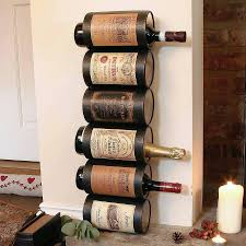 Diy Wine Bottle Drying Rack