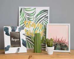 transform a wall with poundland s art prints and frames for just 1