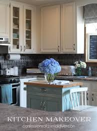 Paint Backsplash Inspiration Kitchen Makeover