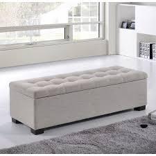 bedroom bench. found it at wayfair - baxton studio massima upholstered storage bedroom bench s