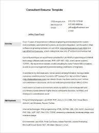 Business Consultant Resume Sample 13 Sample Business Consultant Resume Free  Download