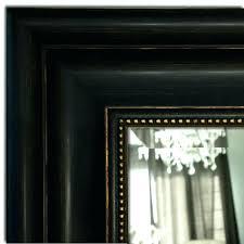 black distressed mirror distressed antique black gold bathroom vanity framed wall mirror distressed black mirror rectangle
