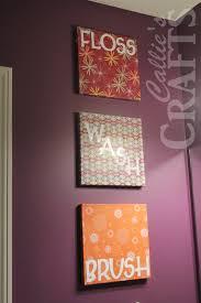 Callie's Crafts: Bathroom Art