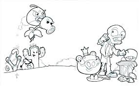 Plants Vs Zombies Coloring Pages Plants Vs Zombies Coloring Pages