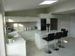 High Gloss White Kitchen White High Gloss Kitchen Modern Minimalist Glossy White Kitchen