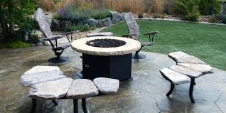 stone patio table. Stone Patio Table Vacation Home Furniture Outdoor Pool Luxury . U