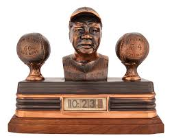 Vintage babe ruth clock