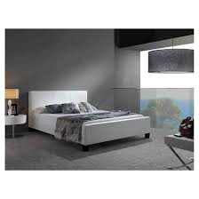 Euro Platform Bed White Queen Fashion Bed Group Tar
