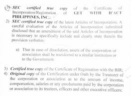 Finalizing Probationary Tax Exemption Get With D Act