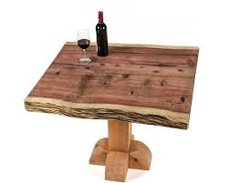 Redwood Slab Dining Table Wine Country Craftsman Official Site