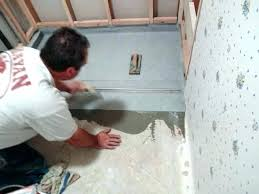 how to install a shower pan on a concrete floor shower pan concrete floor how to how to install a shower pan on a concrete floor
