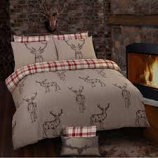 stag beige duvet cover