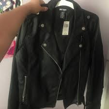 jushmin last month los angeles united states hot topic new leather jacket