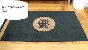 monogram outdoor rug monogrammed rugs monogrammed rug home ideas tv show