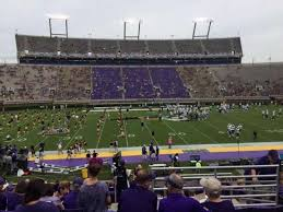 Dowdy Ficklen Stadium Section 7 Home Of East Carolina Pirates