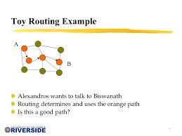 cs network routing michalis faloutsos class overview  7 7