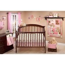 nojo crib bedding photo 1 of little bedding by dream land teddy girl crib set crib nojo crib bedding