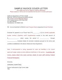 Sample Invoice Letters Submittal Cover Letter Sample Invoice Cover Letter Sample Template