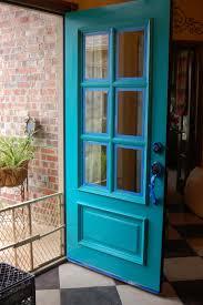 Turquoise front door Sherwin Williams Turquoise Front Door Sonya Hamilton Designs Turquoise Front Door Sonya Hamilton Designs
