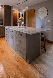 Cherry wood is a beautiful darker wood that looks phenomenal when used for kitchen cabinets. Kitchen Remodel With Cherry Wood Cabinets Viking Kitchen Cabinets