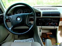 1995 BMW 5 Series 525i Sedan Beige Dashboard Photo #50264090 ...