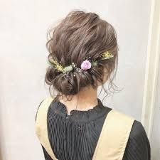 2019年結婚式お呼ばれ髪型決定版 ボブからロングまで人気ヘア Within