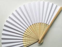 <b>new</b> paper DIY fan handmade wedding paper fan fan craft wedding ...
