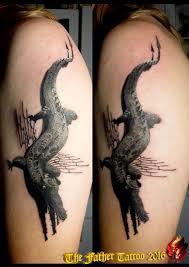 Tetování Draci Rameno Tetování Tattoo