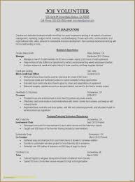 High School Music Resume Examples Luxury Restaurant Resume Objective