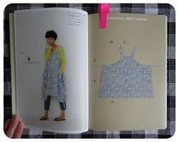 Japanese Apron Pattern Magnificent Ivy Arch Cobbler Controversy Straight Stitch Apron Dress Book