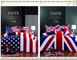 american flag duvet cover twin american flag bedding urban outers 3 4pcs 100 cotton american flag