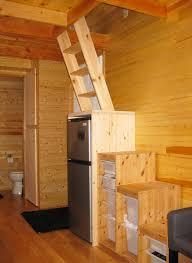 tiny house fridge. Steps And Ladder Ideas For Your Tiny House | Sacred Habitats Fridge
